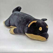 Marshmallow-Soft Body Pillow Shiba Black