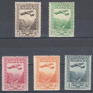 Series Montserrat Air 650/654 - Year 1931 - MH