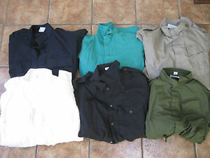 British Army Coveralls Boiler Suit Overalls Grey Blue Green Black White Military