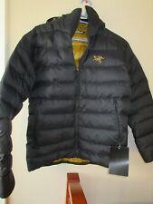 Mens New Arcteryx Thorium AR Hoody Jacket Size Large Color 24K Black