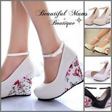 Unbranded Leather Party Floral Shoes for Women