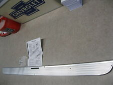NOS 57 CHEVY ACCESSORY TRUNK LID ALUMINUM MOLDING  WITH HDW 1957 CHEVROLET
