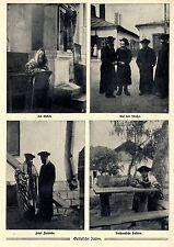 Galizische Juden * In traditioneller Tracht * Im Gebet...Bilddokumente von 1915