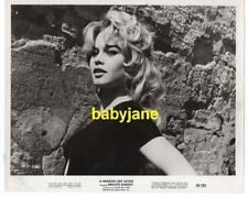 BRIGITTE BARDOT VINTAGE 8X10 PHOTO 1959 A WOMAN LIKE SATAN