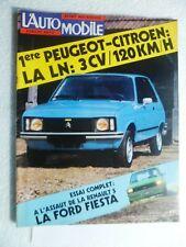 L'AUTOMOBILE N°362 08/1976 CITROEN LN FORD FIESTA MATRA SIMCA BAGHEERA JEEP