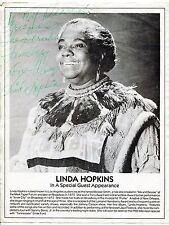 Vintage Linda Hopkins Ad Flyer - Inscribed & Signed