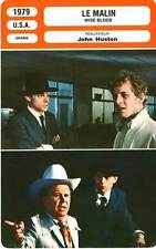 FICHE CINEMA : LE MALIN - Dourif,Huston,Shor 1979 Wise Blood