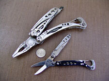 LEATHERMAN SKELETOOL MULTI TOOL & STYLE CS--EXCELLENT COND.-CAMPING-SCOUTING