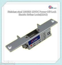 Stainless steel 1800KG 12VDC Power-Off-Lock Electric Strikes Locks(15AO)