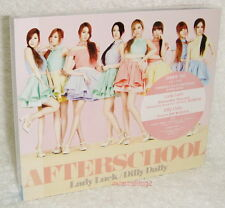 After School Lady Luck / Dilly Dally Taiwan CD+Live DVD+Card (Japanese Language)