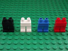 4  Lego Mini Figure Black Blue White Red Legs Brand New Crafts Jewellery Resale