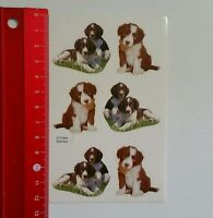 Aufkleber/Sticker: Hundewelpen (130516110)