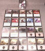 MTG Magic the Gathering Jumpstart Misprint Overprint Full Vampires Deck 21 Cards