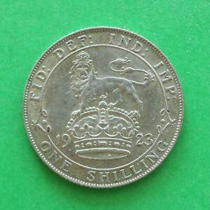 1923 George V Silver Shilling SNo58931