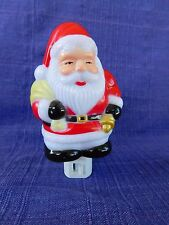 Christmas SANTA CLAUS  Night Light - HO! HO! HO! Plug In with On/Off switch