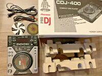 PIONEER CDJ Controller CDJ-400 Digital CD Deck DJ Equipment Used Boxed Japan