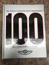 *The Harley-Davidson 100th Anniversary Retrospective Book, Used, Hard Cover*