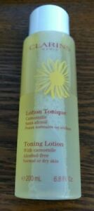 Clarins Toning Lotion Alcohol Free normal or dry skin 6.8 Fl. Oz