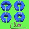 ► 1/10 ALU 5mm BLAU Radmitnehmer Rad Adapter 12mm Hex Sechskant Reifen Tuning