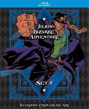 Jojo's Bizarre Adventure Set 2: Stardust Crusaders [New Blu-ray] Ltd Ed, Boxed
