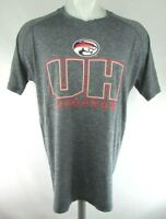 University of Houston Cougars Men's Champion Short Sleeve Gray Shirt NCAA S - XL