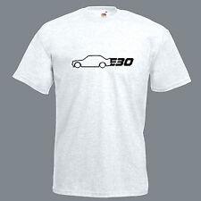 BMW E30 T Shirt M3 Top Ispirato Retro Drift Auto Da Corsa da Uomo REGALO PAPA 'T-SHIRT TEE