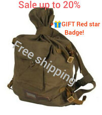Original russian army backpack soviet soldier USSR duffel bag New +GIFT Red star