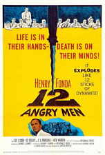 12 ANGRY MEN Movie POSTER 11x17