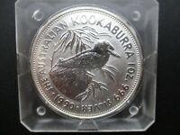 Kookaburra 1990  Perth Mint Australia  1 oz .999 Silver Coin ** FIRST YEAR **