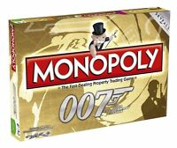 James Bond 007 Monopoly Board Game 50th Anniversary Edition
