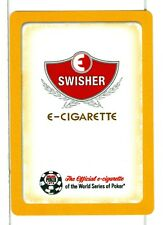"Single Wide Playing Card, ""Swisher"" E-Cigarettes"
