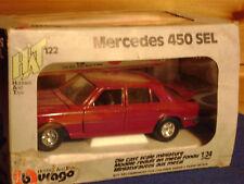 BURAGO Mercedes ha 450 SEL cod. 0122 scala 1:24 RARO!!!