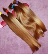 HUMAN HAIR HAIRCUT 11.5-13.5 IN 3.9oz Total BABYFINE BLONDE BUNDLE PONYTAILS B76