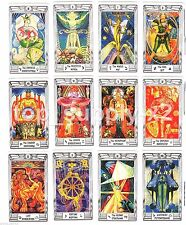 Aleister Crowley MINI Size Thoth Tarot ENGLISH New Fortune  Cards Deck