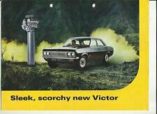 VAUXHALL VICTOR 1600 AND 2000 SALES BROCHURE 1968