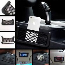 Car Multifunctional GPS Mobile Phone Glasses Sundries Storage Net Bag For Benz