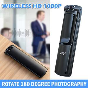 1080P HD WiFi Camcorder Cam Police Body Camera Video DVR IR Night Mini Camera UK
