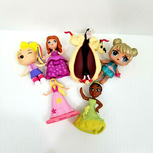 Lot Of 6 Toys Dolls Action Figures - Mixed Lot.