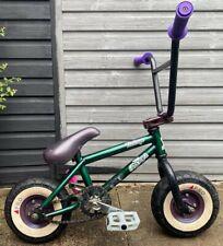 Rocker 2 Vintage Mini Rocker Mini Bmx Pro Racing Verde púrpura raro Entrega Gratis