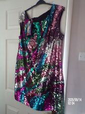 Butterfly by Matthew Williamson Sequined Dress Size 18 New