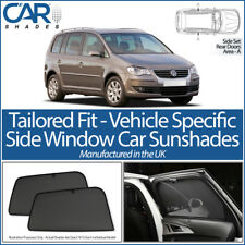 VW Touran 5dr 2003-10 CAR SHADES UK TAILORED UV SIDE WINDOW SUN BLINDS PRIVACY