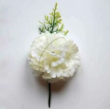 Silk Carnation Wedding Single Flowers