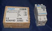 Hager ADA916D FI-Schalter/Leitungsschutzschalter 1-polig+N 6 kA B-1 (130)