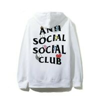 *Authentic* ASSC BT21 BTS Peekaboo Medium White Hoodie / Anti Social Social Club