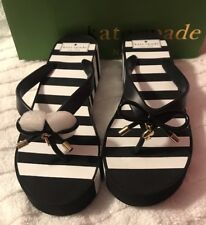 3166b65d914 Kate Spade Wedge Striped Sandals   Flip Flops for Women for sale