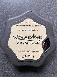 Orvis Wonderline WF-7-I Amber Intermediate Fly Line.