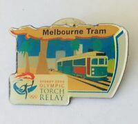 Melbourne Tram Railway Sydney 2000 Olympics Pin Badge Authentic (H4)