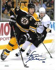 Zdeno Chara Boston Bruins Autographed signed 8x10 photo coa JSA 4-