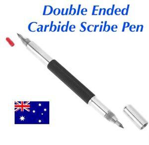 Double Ended Tungsten Carbide Scribing Pen Tip Steel Scriber Scribe Marker Metal