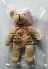 Avon Flame Teddy Bear Brown Plush Pink Ribbon Symbol Nip